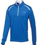 PUMA Kids' 1/4-Zip Long Sleeve Top