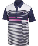 PUMA Kids' Yarn Dye Stripe Polo