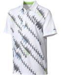 Slazenger Distance Frequency Print Polo