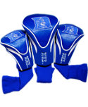 Team Golf Duke Blue Devils NCAA Contour Sock Headcovers - 3 Pack