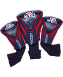 Team Golf Arizona Wildcats NCAA Contour Sock Headcovers - 3 Pack
