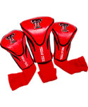 Team Golf Texas Tech Red Raiders Contour Sock NCAA Headcovers - 3 Pack