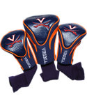 Team Golf Virginia Cavaliers NCAA Contour Sock Headcovers - 3 Pack