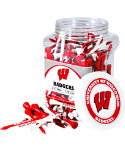 Team Golf NCAA Wisconsin Badgers Tee Jar - 175 Pack