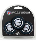 Team Golf New England Patriots NFL Golf Chips - 3 Pack