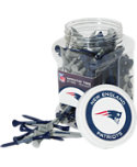 Team Golf NFL New England Patriots Tee Jar - 175 Pack
