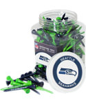 Team Golf NFL Seattle Seahawks Tee Jar - 175 Pack