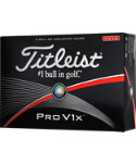 Titleist Pro V1x High Number Golf Balls - 12 Pack