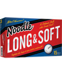 Noodle Long & Soft Golf Balls - 15 Pack