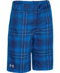 Under Armour Boys' Utility Club Plaid Shorts