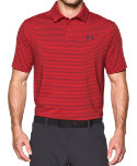 Under Armour Playoff Heather Stripe Polo