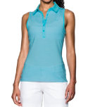 Under Armour Women's Zinger Sleeveless Stripe Polo