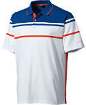 Walter Hagen Birdie Engineered Stripe Polo