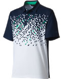 Walter Hagen Fairway Shattered Print Polo