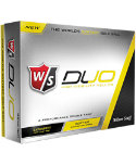 Wilson Staff Duo Yellow Golf Balls - 12 Pack