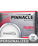 Pinnacle Rush Personalized Golf Balls - 12 Pack