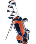 Top Flite Junior Complete Set (Ages 9-12) - Blue/Orange