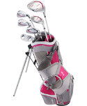 Top Flite 2016 Junior Complete Set (Ages 9-12) - Grey/Pink