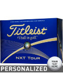 Titleist NXT Tour Personalized Golf Balls - 12 Pack