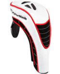 TaylorMade White Hybrid Headcover