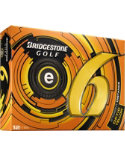 Bridgestone e6 Straight Distance Yellow Golf Balls - 12 Pack