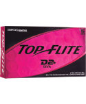Top Flite Women's D2+ Diva Pink Golf Balls - 15 Pack