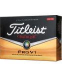 Titleist Prior Generation Pro V1 High Numbers Golf Balls - 12 pack