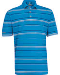 Ashworth Performance Interlock Stripe Polo