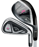 Callaway Women's X2 Hot Hybrids/Irons - Graphite