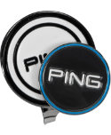PING Magnetic Hat Clip - Black/White
