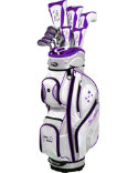Tour Edge Women's Lady Edge Complete Set - Plum