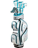 Tour Edge Women's Lady Edge Complete Set - Teal