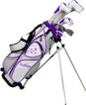 Tour Edge Women's Lady Edge Starter Complete Set - Plum