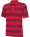 adidas Puremotion Heather 3-Stripes Polo