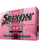 Srixon Women's Soft Feel Lady Pink Personalized Golf Balls - 12 Pack