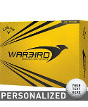 Callaway Warbird Personalized Golf Balls - 12 Pack