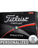 Titleist Pro V1x High Number Personalized Golf Balls - 12 Pack