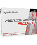 TaylorMade AeroBurner Soft Personalized Golf Balls - 12 Pack