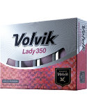 Volvik Women's Lady 350 Pink Personalized Golf Balls - 12 Pack