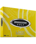Bridgestone Lady Precept Optic Yellow Personalized Golf Balls - 12 Pack