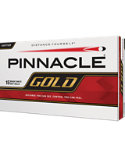 Pinnacle Gold Personalized Golf Balls - 15 Pack