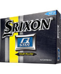 Srixon Q-Star Tour Yellow Personalized Golf Balls - 12 Pack
