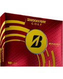 Bridgestone Tour B330-RX Optic Yellow Personalized Golf Balls - 12 Pack
