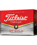 Titleist DT SoLo Personalized Golf Balls - 12 Pack