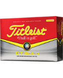 Titleist DT SoLo Yellow Personalized Golf Balls - 12 Pack