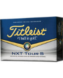 Titleist NXT Tour S Personalized Golf Balls - 12 Pack
