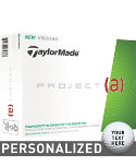 TaylorMade Project (a) - 12 Pack Personalized Golf Balls - 12 Pack
