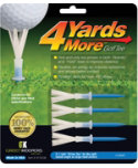 Green Keepers 4YardsMore 3 1/4'' Blue Golf Tees - 4 Pack