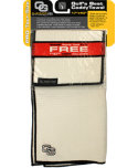 Club Glove USA Tandem Towel - White/Black