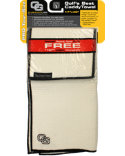 Club Glove USA Microfiber Caddy Towel - White/Black